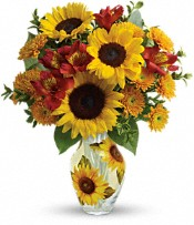 Teleflora's Simply Sunny Bouquet Flowers