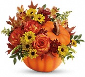 Teleflora's Warm Fall Wishes Bouquet Flowers