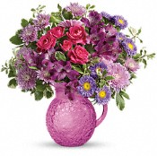 Teleflora's Pretty As A Pitcher Bouquet Flowers