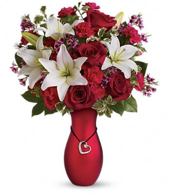 Heartstrings Bouquet by Teleflora Flowers