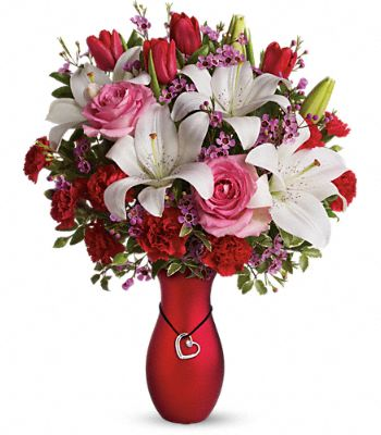My Heart Is Yours Bouquet by Teleflora Flowers