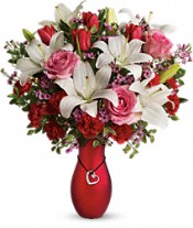 My Heart Is Yours Bouquet by Teleflora DX Flowers