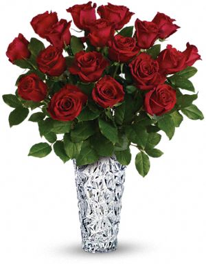 Sparkling Beauty Red Roses Bouquet