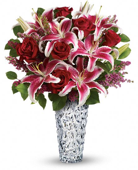 diamonds and lilies bouquet flowers, diamonds and lilies flower, Beautiful flower