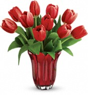 Teleflora's Kissed By Tulips Bouquet Flowers