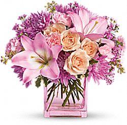 Fleurs Peut-être rose