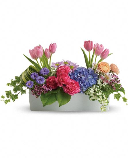 Garden Party Centerpiece Flowers
