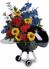 Weber Hot Off The Grill by Teleflora Flowers