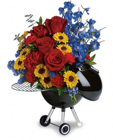 Weber Grill bouquet