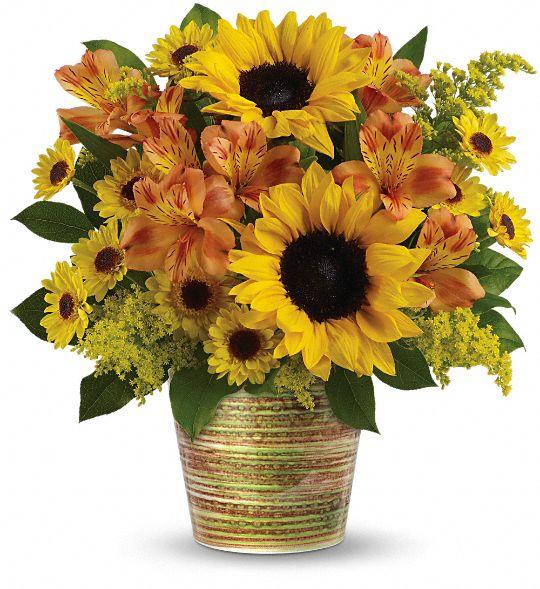 Teleflora's Grand Sunshine Bouquet Flowers