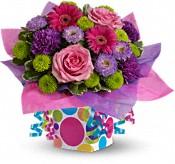 Confetti Present Flowers