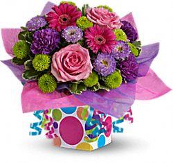 Fleurs Cadeau de confettis