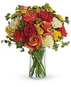 Bouquet Baiser citronné