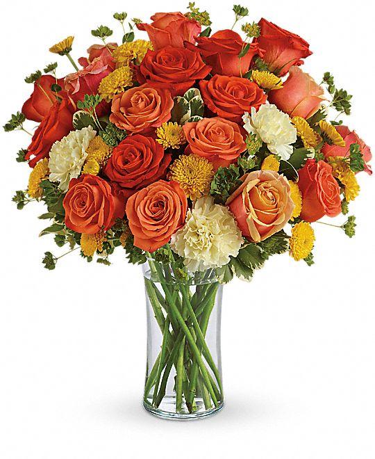 Citrus Kissed Flowers