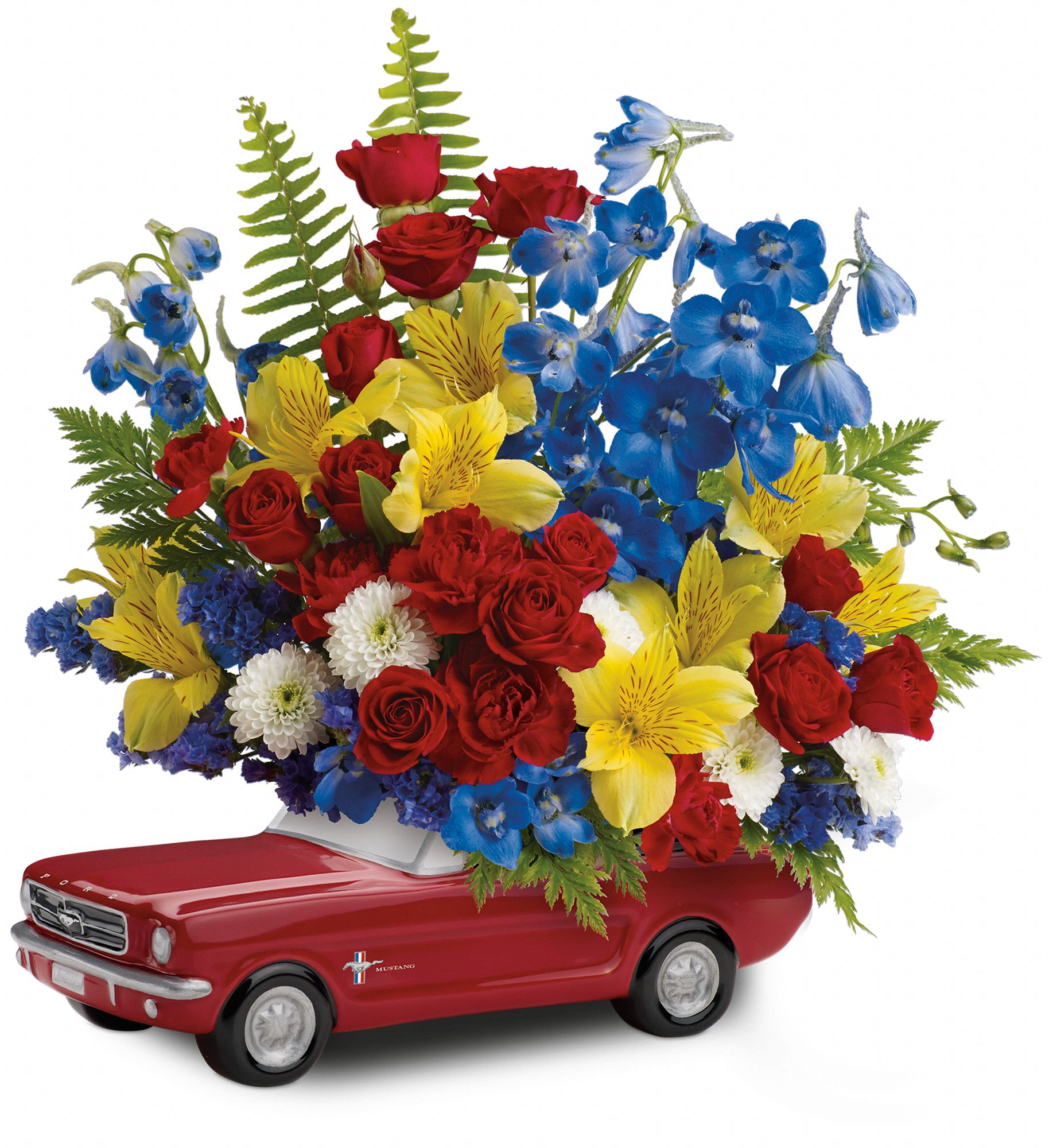 Ford Mustang bouquet