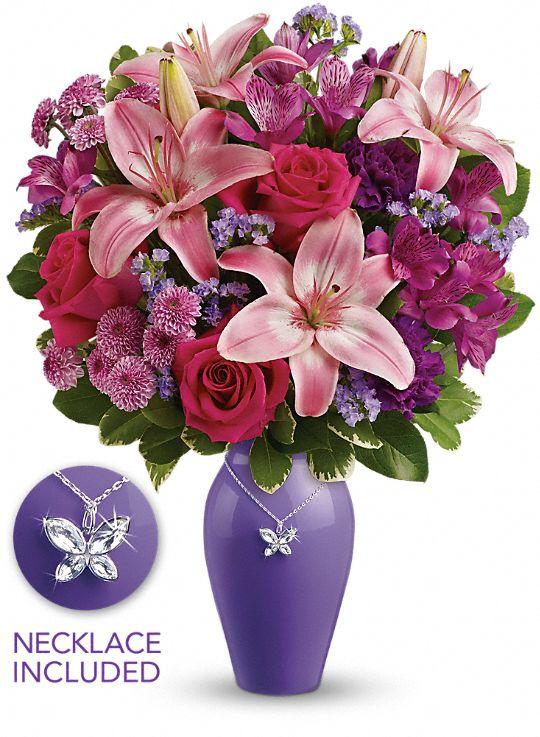 Teleflora's Beautiful Butterfly Bouquet Flowers