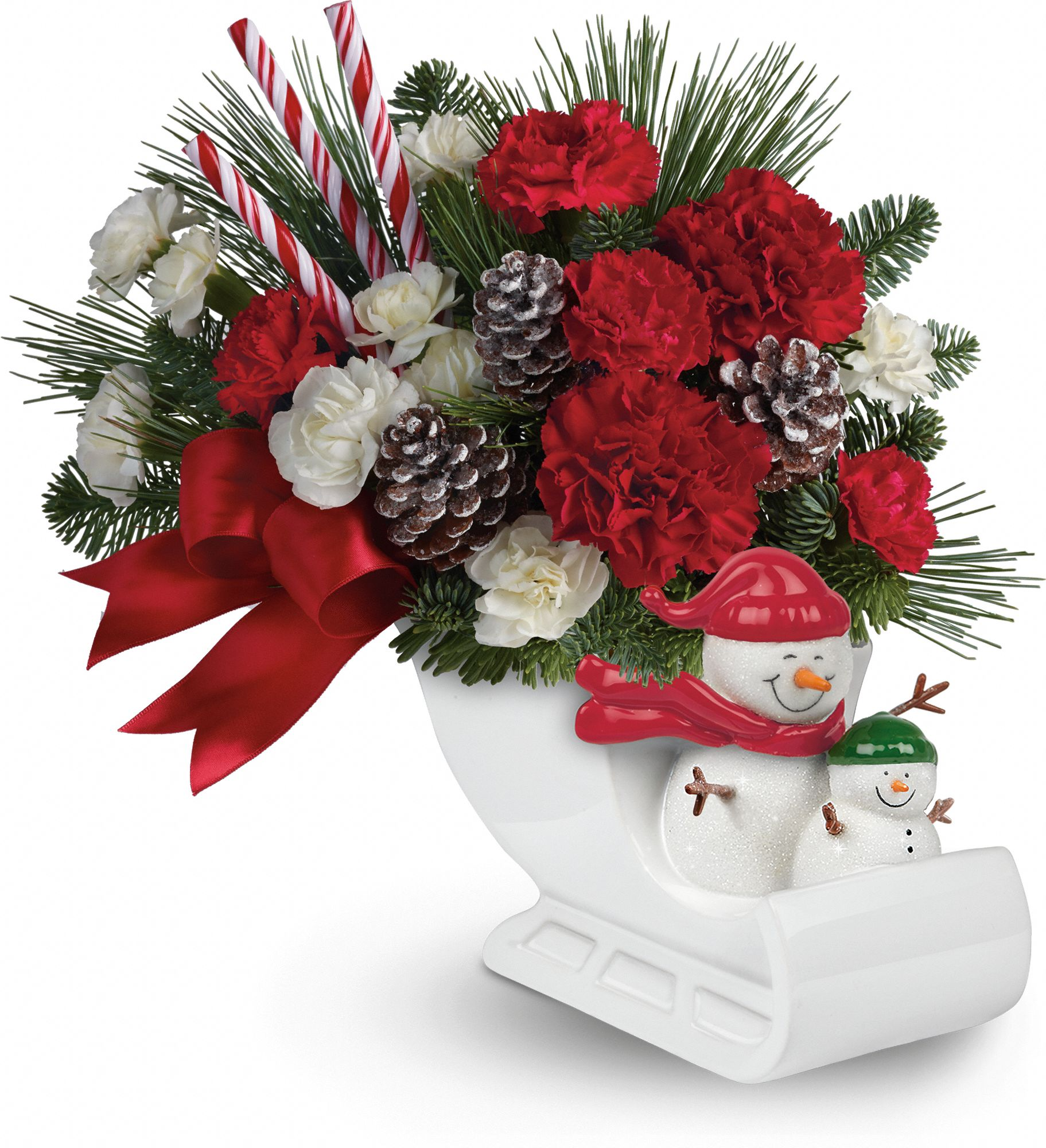 Send a Hug® Open Sleigh Ride by Teleflora