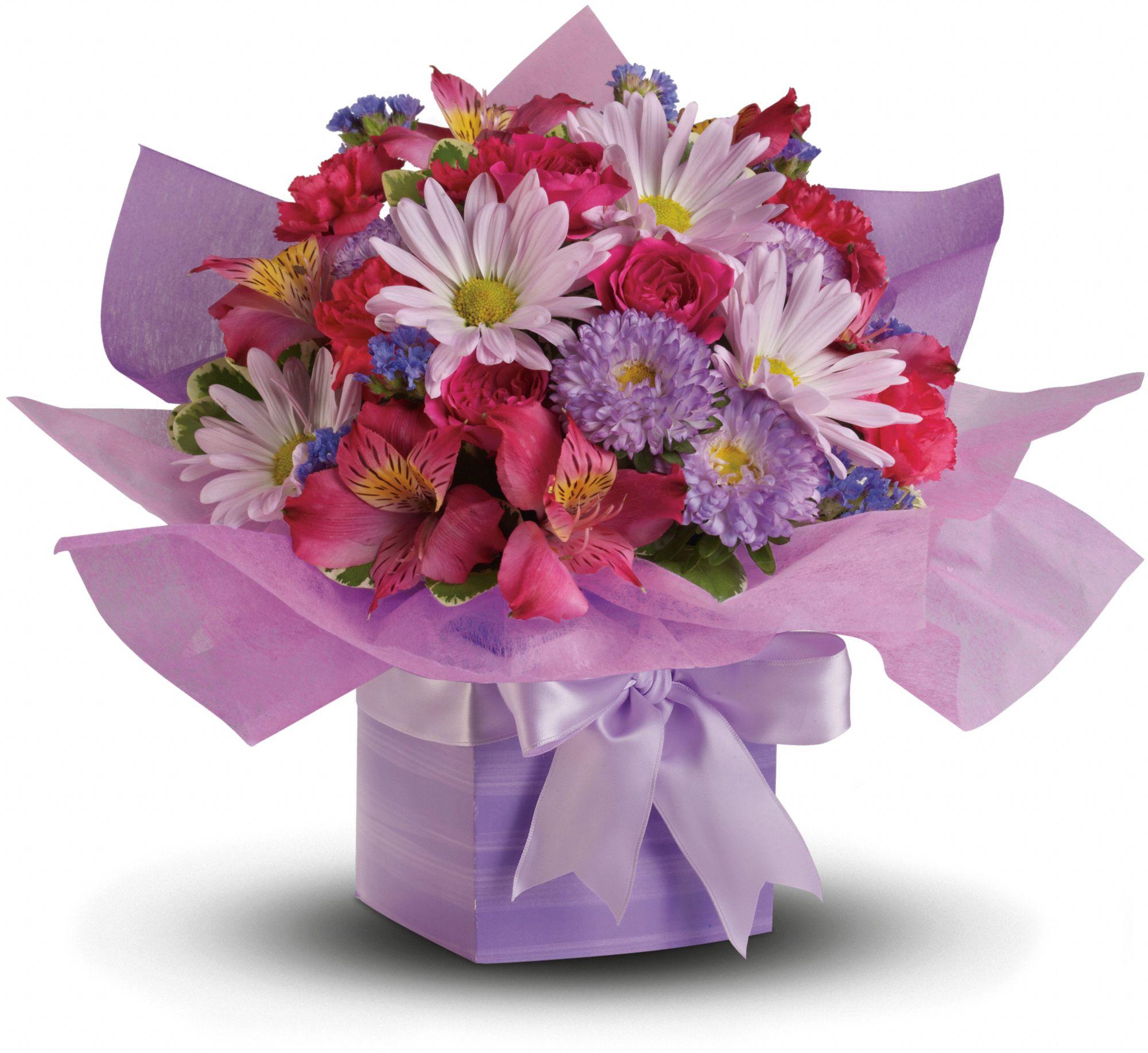 Teleflora's Lovely Lavender Present Flowers