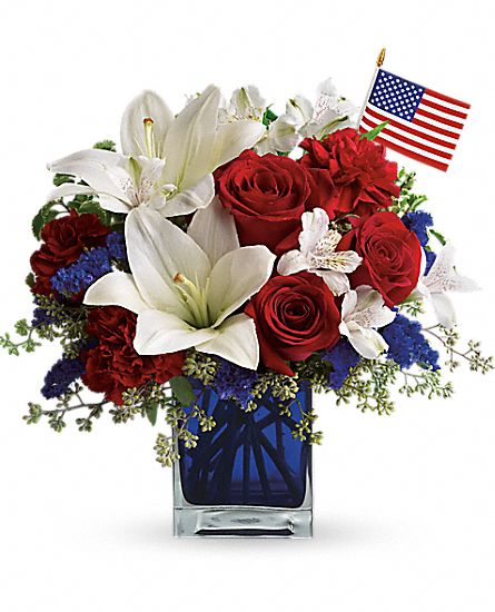 America the Beautiful by Teleflora Flowers