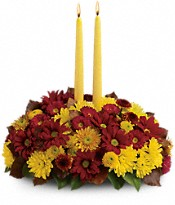 Harvest Happiness Centerpiece PM Flowers