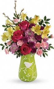 Bouquet de fleurs Bonjour le printemps