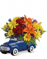 Vintage Ford Pickup Bouquet