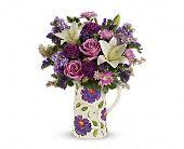 Teleflora's Garden Pitcher Bouquet, picture