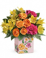 Teleflora's Painted Blossoms
