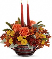 Teleflora's Celebrate Fall Centerpiece Flowers