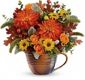 Teleflora's Autumn Sunrise Bouquet Flowers