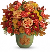 Teleflora's Heart Of Fall Bouquet Flowers