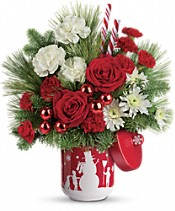 Teleflora's Snow Day Bouquet Flowers