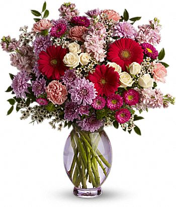 Perfectly Pleasing Pinks Carnation Bouquet