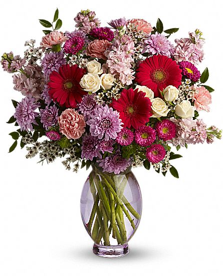 Teleflora's Perfectly Pleasing Pinks Flowers
