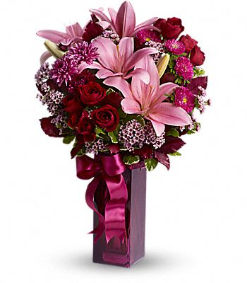 Teleflora's Fall in Love Flowers