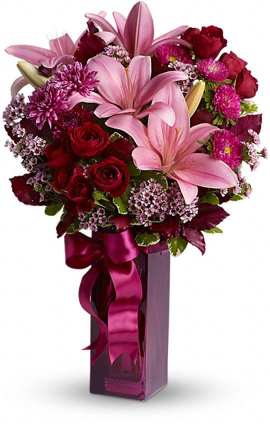 Teleflora's Fall in Love Flowers