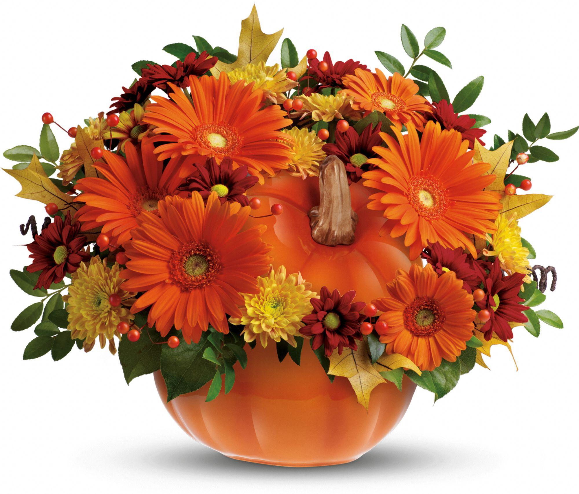 Country Pumpkin Bouquet