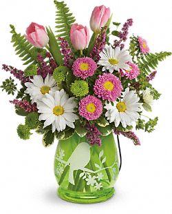 Bouquet de fleurs Hymne au printemps