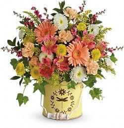 Bouquet de fleurs Printemps à la campagne