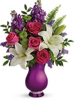 Bouquet de fleurs Éclat et brillance