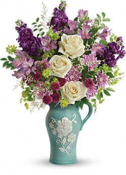 Bouquet de fleurs Beauté artisanale