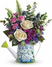 Splendid Garden Bouquet Flowers