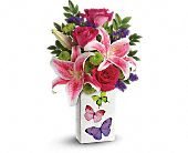 Teleflora's Brilliant Butterflies Bouquet, picture