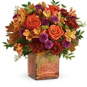 Golden Amber Bouquet Flowers