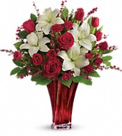 Love's Passion Bouquet  Flowers