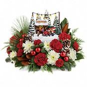 Thomas Kinkade's Family Tree Bouquet Flowers