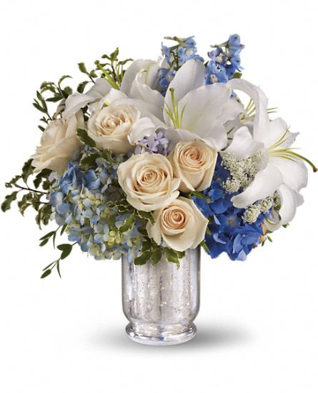 Teleflora's Seaside Centerpiece Flowers