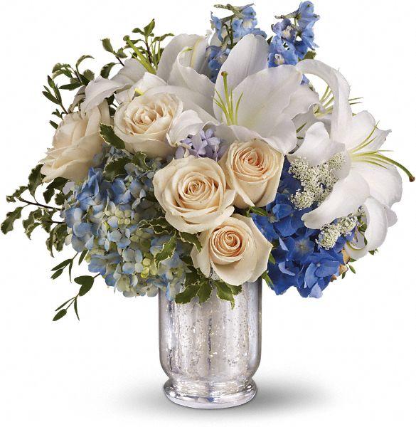 Teleflora's Seaside Centerpiece Flowers