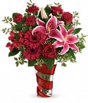 Swirling Desire Bouquet Flowers