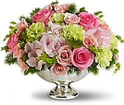 Garden Rhapsody Centrepiece Flowers